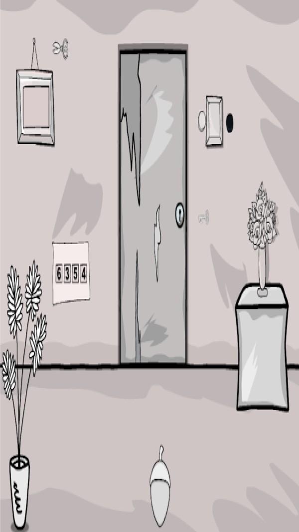 黑白房间逃生截图